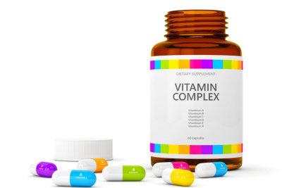 vitamins in a bottle
